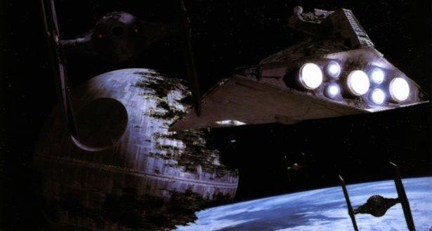 Star Wars Death Star and Star Destroyer
