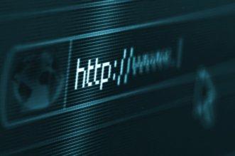 HTTP URL on Computer Screen