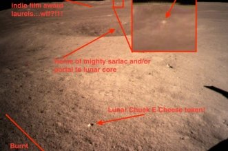 Moon Surface Anomalies