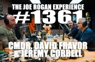Joe Rogan and David Fravor